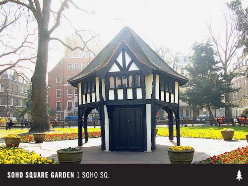 Jack Spade's Guide To Soho, London